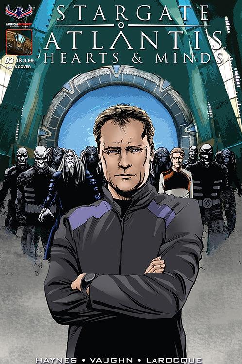 Stargate Atlantis Hearts & Minds #3 LaRocque Main Cover
