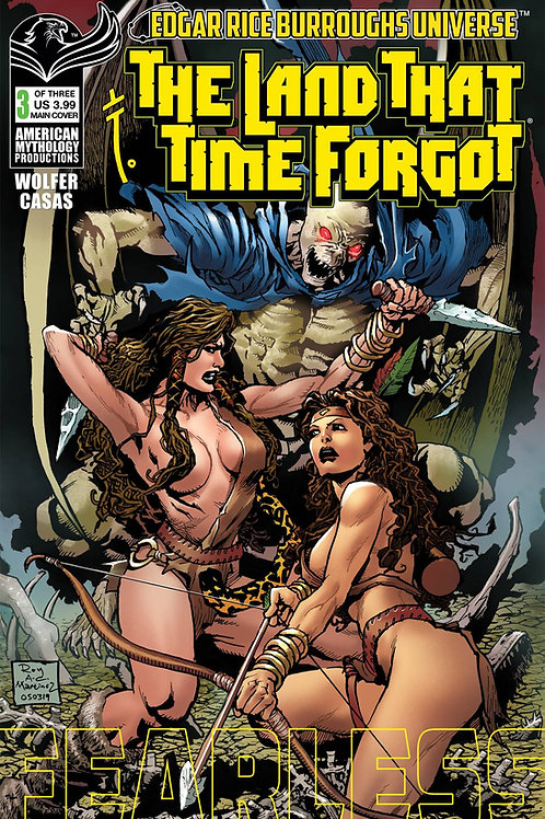 The Land That Time Forgot: Fearless #3 Main Cvr