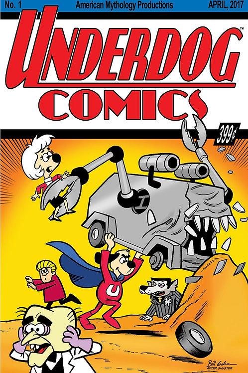 Underdog #1 Classic Homage Galvan Cover