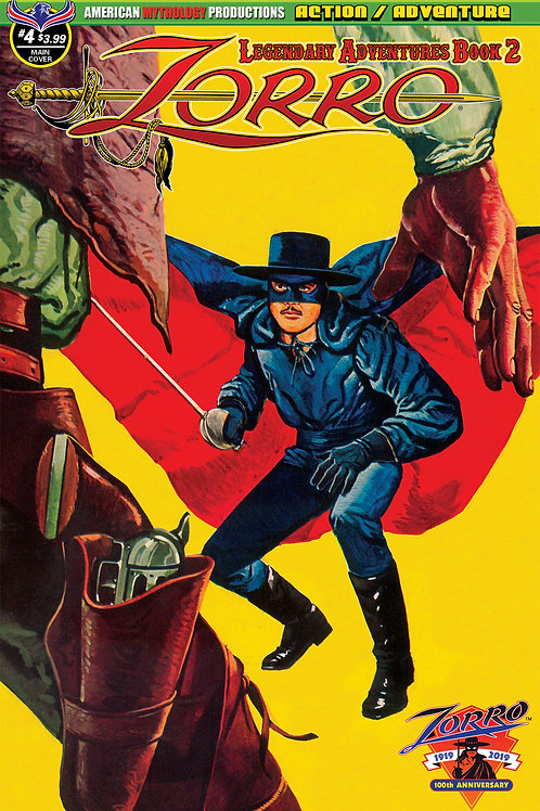 Zorro Legendary Adventures Book II #4 Digital PDF
