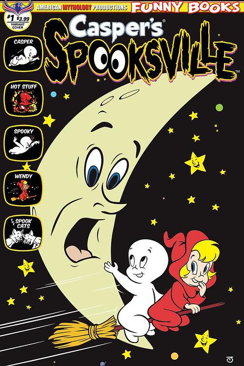 Casper's Spooksville #1 Spook the Moon Scherer Cvr