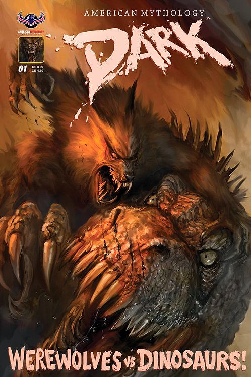 American Mythology Dark: Werewolves Vs Dinosaurs #1 Ferocious Cvr