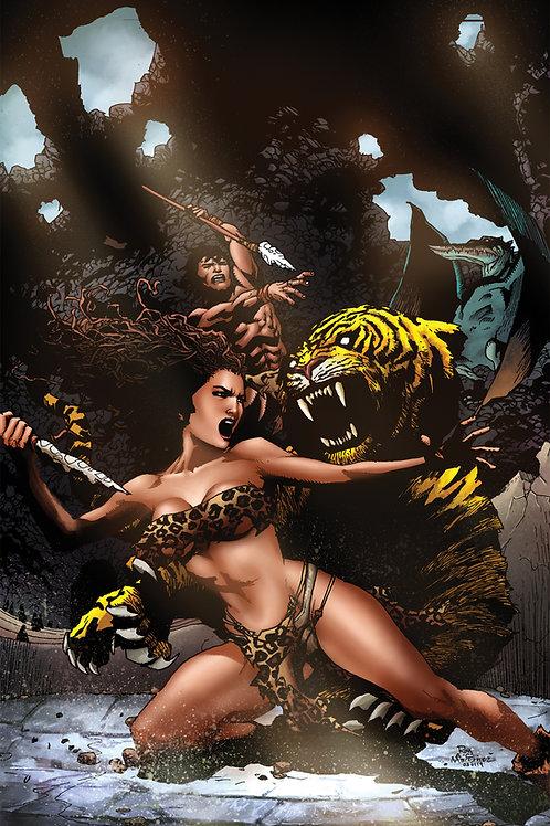 Pellucidar Wings of Death #2 Ltd Ed 1/350 Virgin Artvr