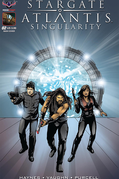 Stargate Atlantis Singularity #2 LaRocque Main Cover