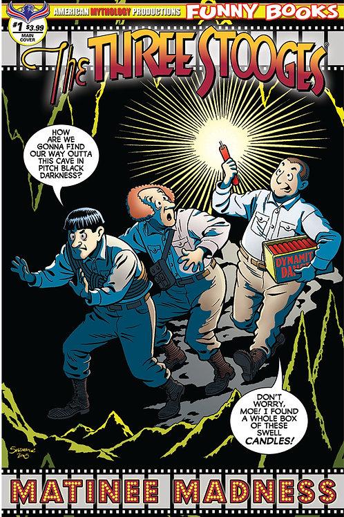 Three Stooges Matinee Madness Shanower Main Cover