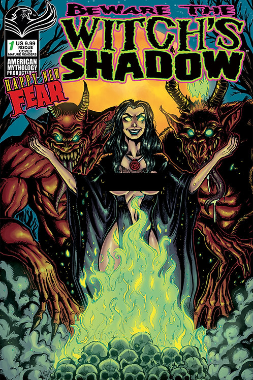 Beware the Witch's Shadow: Happy New Fear #1 Calzada Risque Cvr (MR)