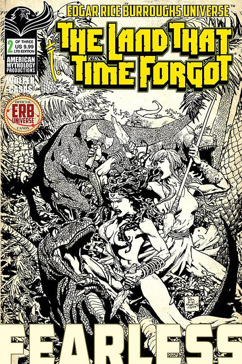 Land That Time Forgot: Fearless #2 Ltd Ed 1/350 Pulp Cvr