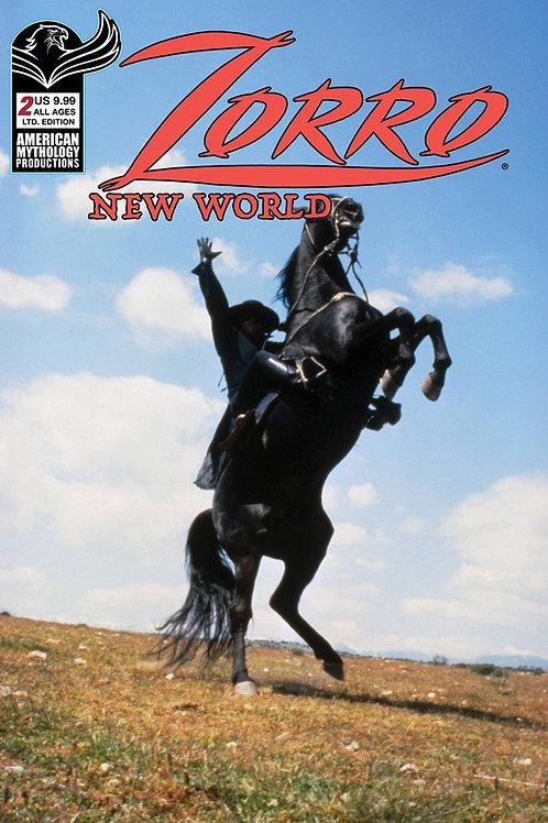 Zorro New World #2 Ltd Ed Photo Cvr