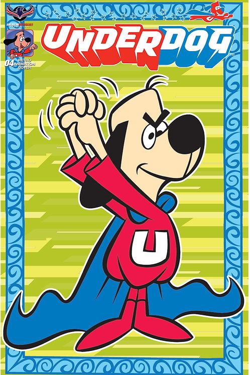 Underdog #4 Ltd Ed 1/350 Retro Animation Cvr