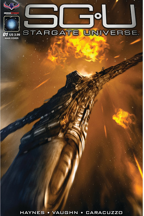 Stargate Universe Back to Destiny #1 Scalf Main Cover
