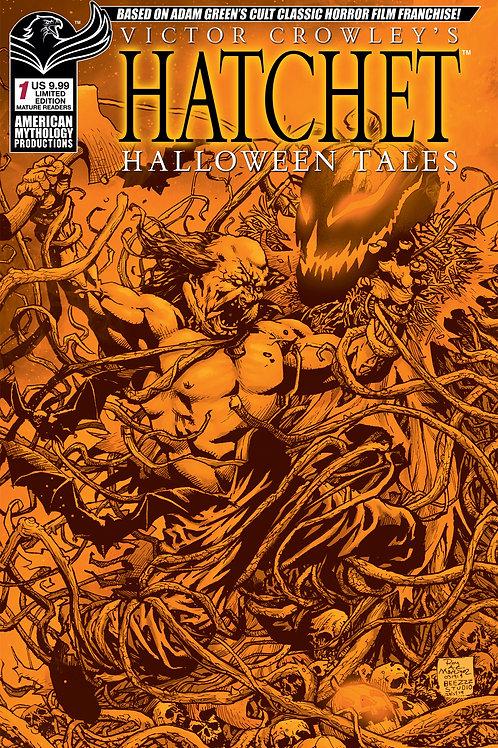 Victor Crowley's Hatchet Halloween Tales #1 Ltd Ed 1/350 Halloween Cvr