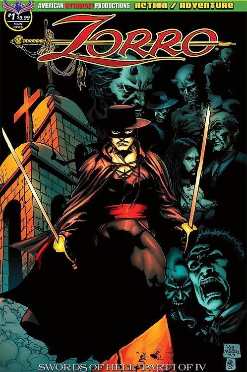 Zorro Swords of Hell #1 Martinez Main Cvr