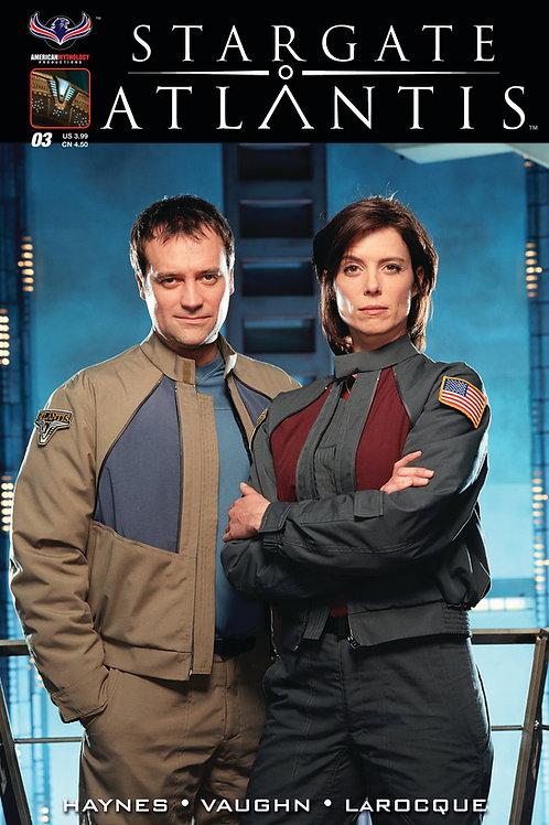Stargate Atlantis #3 Retailer Incentive Photo Cvr