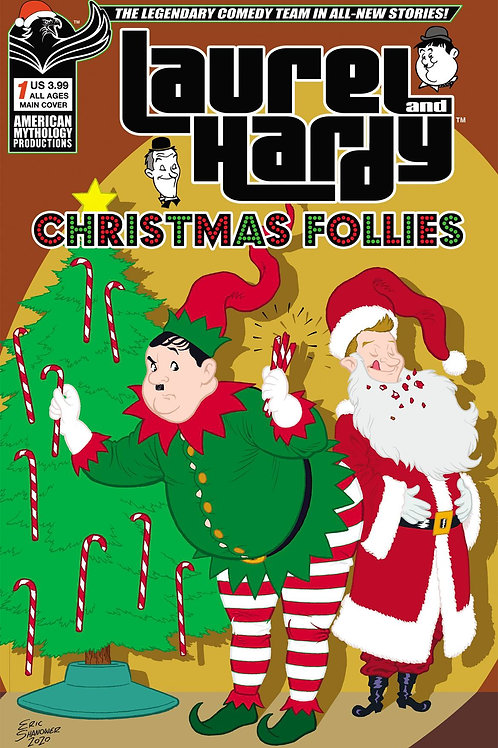 Laurel & Hardy Christmas Follies #1 Main Cvr