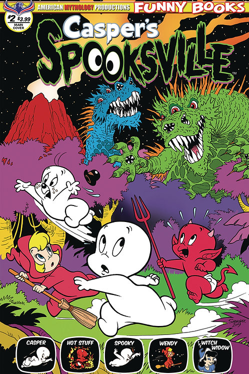 Casper's Spooksville #2 Digital Edition