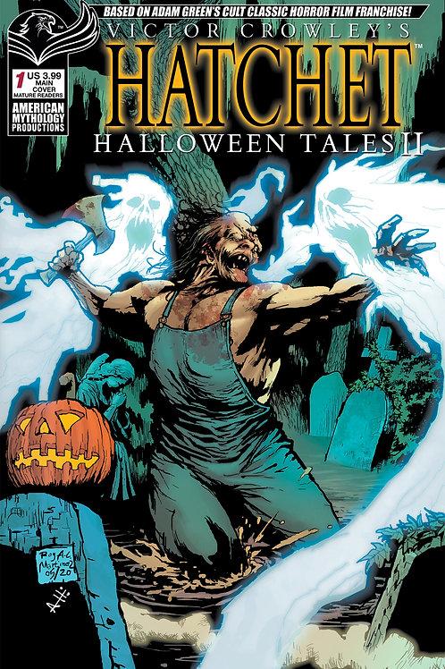 Victor Crowley's Hatchet Halloween Tales II Martinez Main Cvr