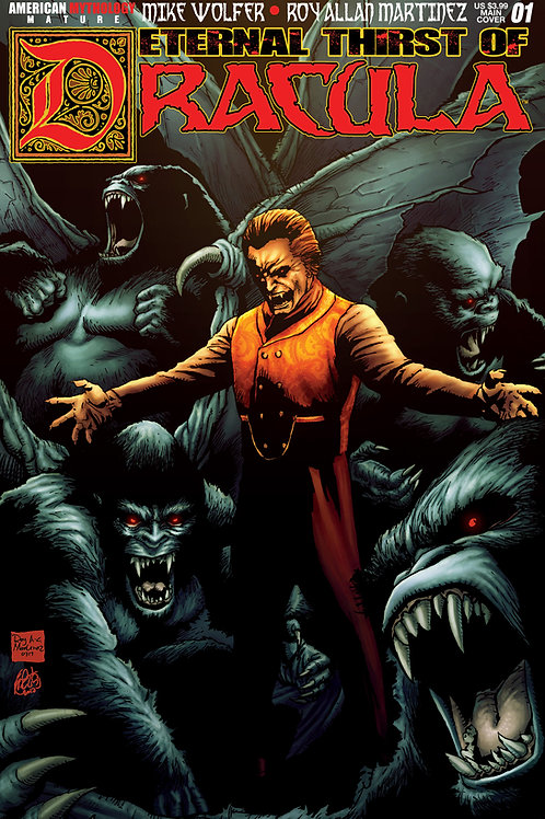 Eternal Thirst of Dracula #1 Main Martinez Cvr