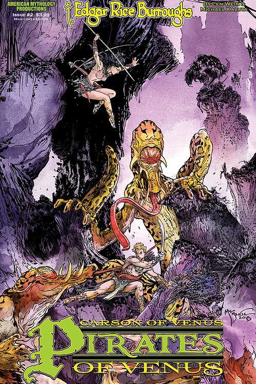 Carson of Venus #2 Pirates of Venus Kaluta Cvr