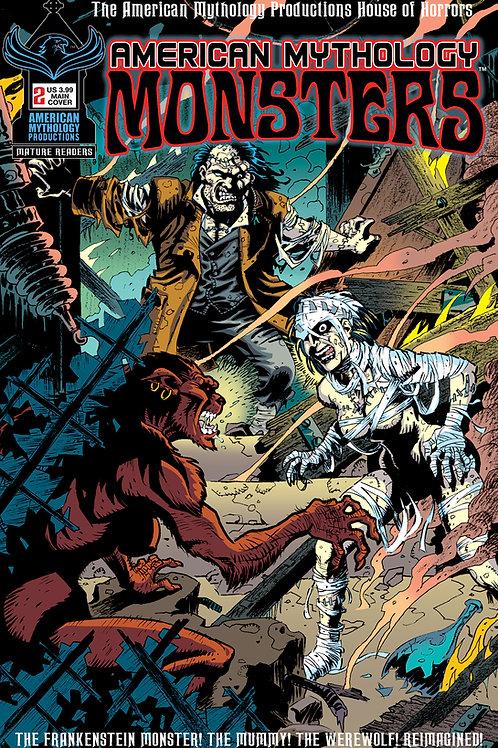 American Mythology Monsters Book II #2 Main Cvr