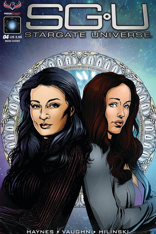 Stargate Universe Back to Destiny #4 Main LaRocque Cover