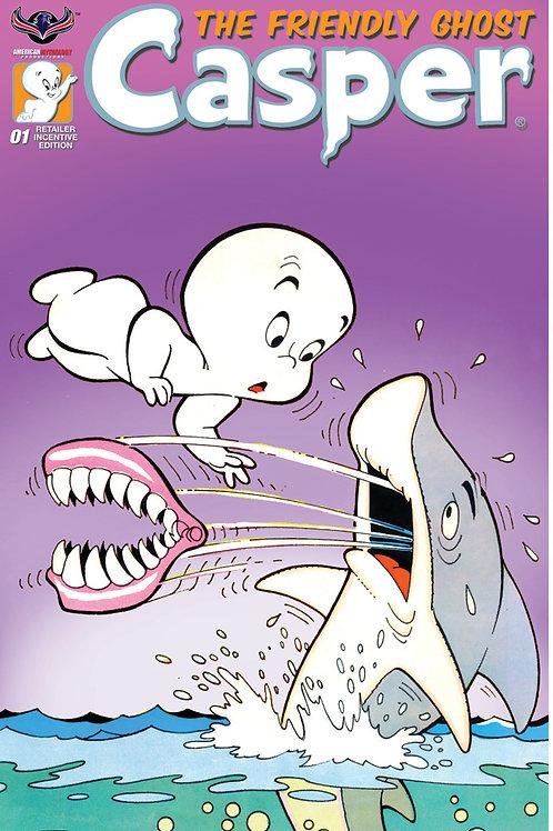 Casper the Friendly Ghost #1 Retro Animation Incentive Cvr