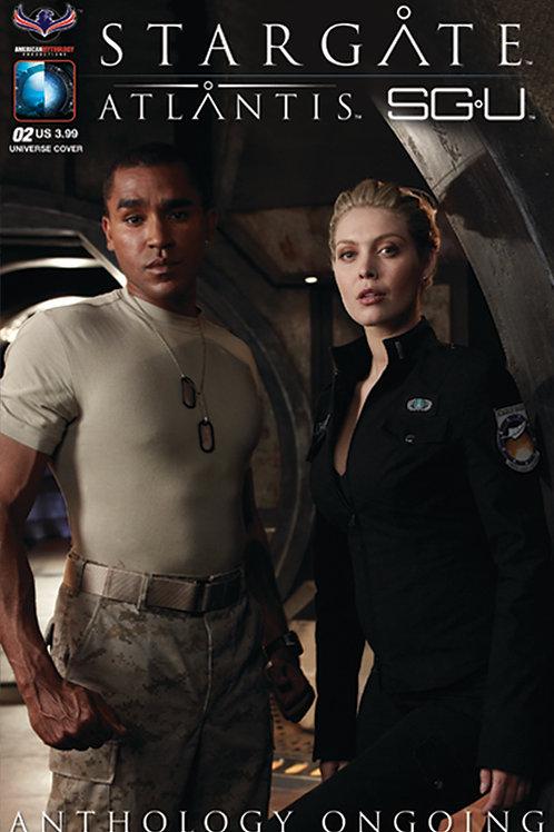 Stargate Atlantis Stargate Universe Anthology Ongoing #2 SGU Photo Cov