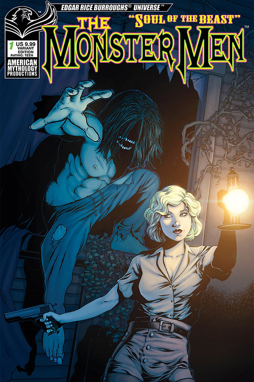 Monster Men #1 Wolfer Var Cvr