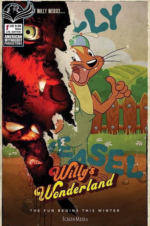 "Willy's Wonderland Prequel #1 Ltd Ed ""Slashin Time"" Cvr"
