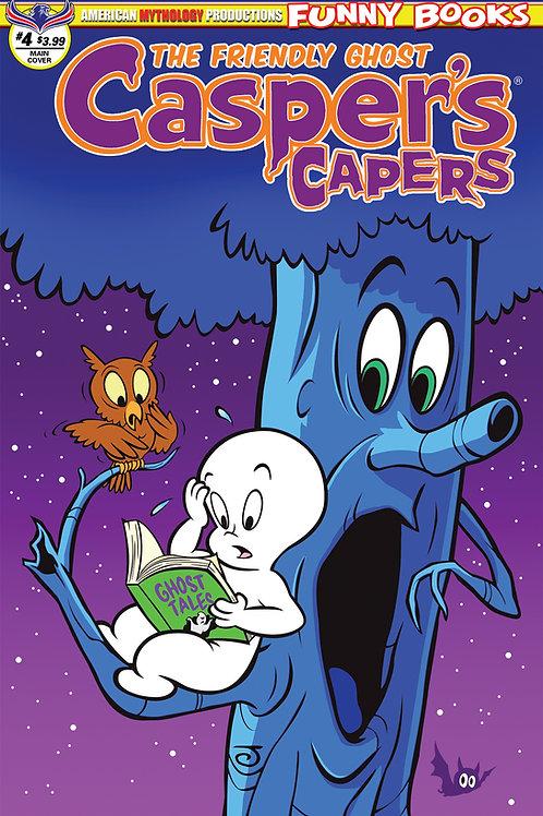 Casper's Capers #4 Main Scherer Cvr