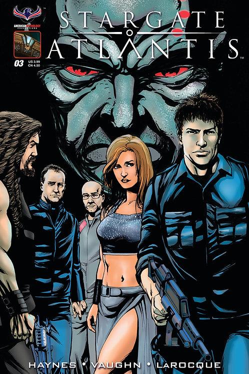 Stargate Atlantis #3 LaRocque Cover
