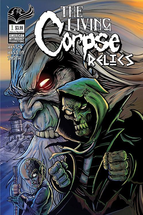 The Living Corpse Relics #1 Encore Ed Digital PDF Edition