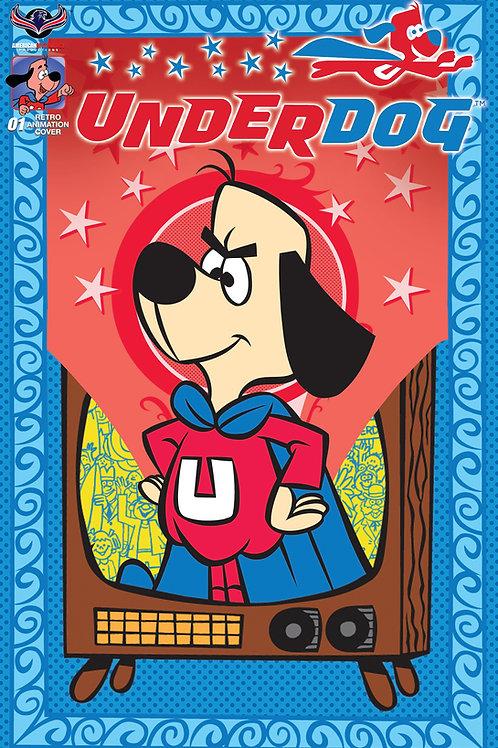Underdog #1Retro Animation Retailer Incentive Cover