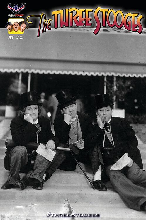 The Three Stooges #1 StoogeAPalooza Retailer Photo