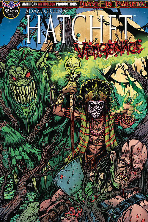 Adam Green's Hatchet Vengeance #2 Calzada Voodoo Main Cvr