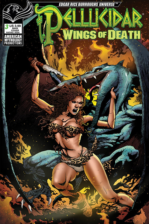 Pellucidar Wings of Death #3 Digital PDF