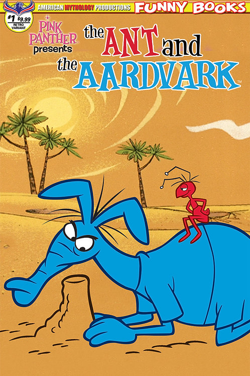 Pink Panther Presents The Ant & The Aarvark #1 LTD Ed 1/350 Retro Annimation Cvr
