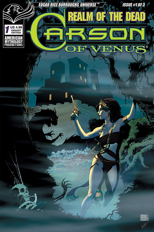 Carson of Venus: Realm of the Dead #1 Main Cvr
