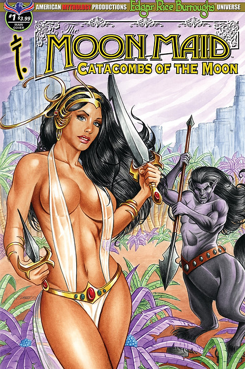 Moon Maid Catacombs of the Moon #1 Sparacio Main Cvr