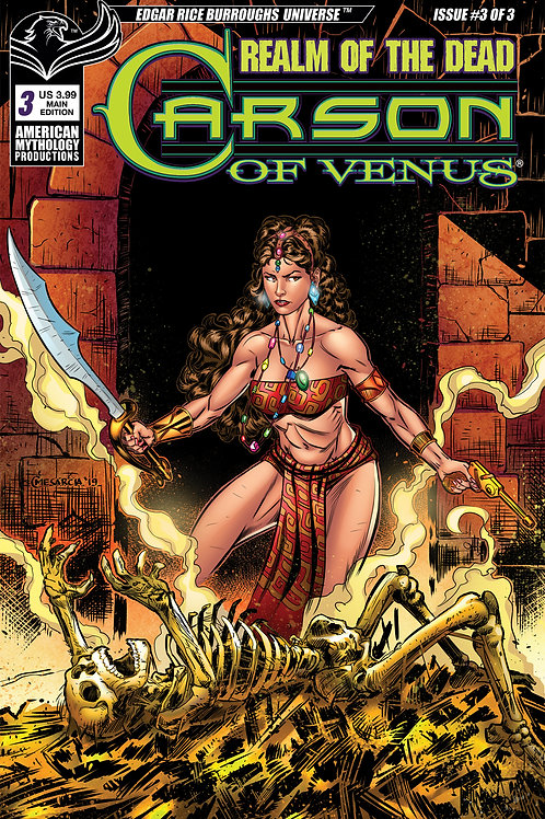 Carson of Venus: Realm of the Dead #3 Digital PDF