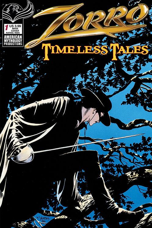 Zorro Timeless Tales #1 Digital PDF Edition