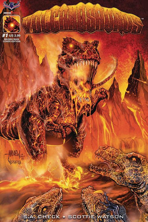 Volcanosaurus #1 Main Mangum Cvr