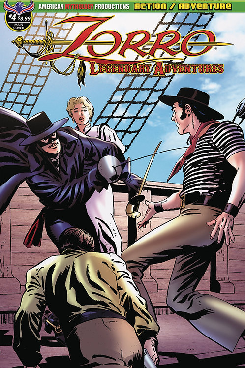 Zorro Legendary Adventures #4 Digital File
