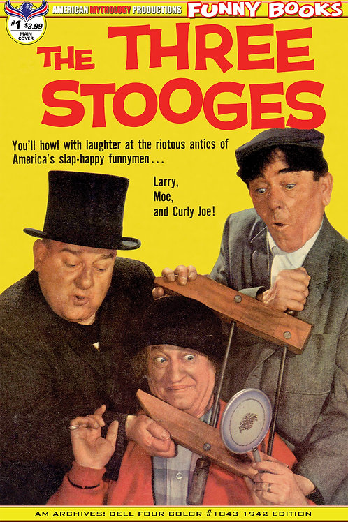 Three Stooges Four Color 1959 #1Main Cvr