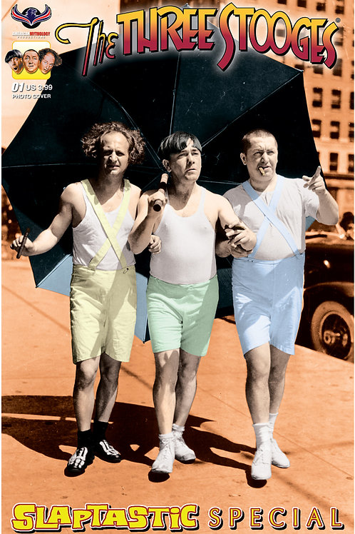 Three Stooges Slaptastic Special Color Photo Cover