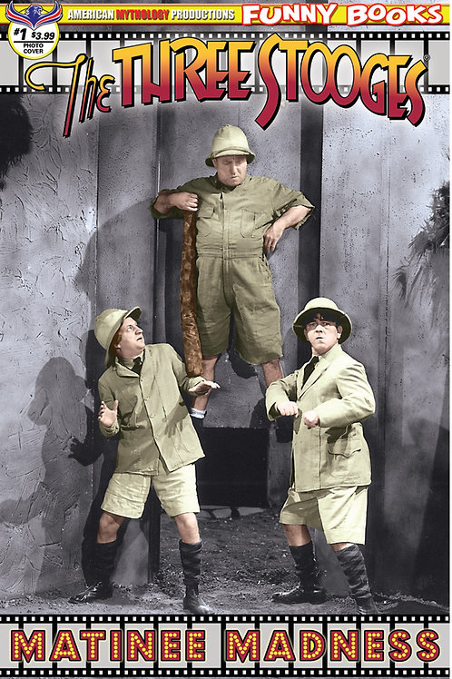 Three Stooges Matinee Madness Color Photo Cover