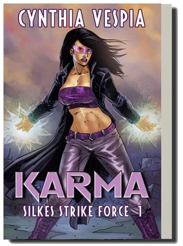 Karma urban fantasy novel