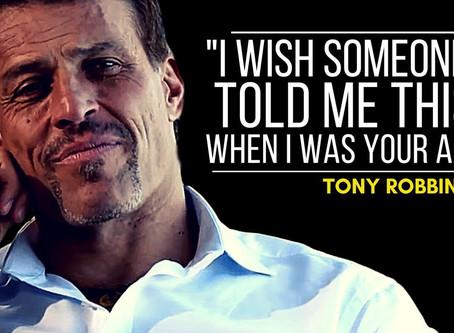 Living a Dream   Seeing Tony Robbins Live