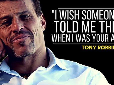 Living a Dream | Seeing Tony Robbins Live