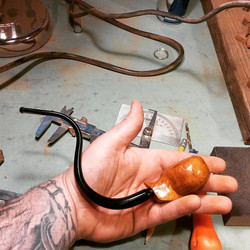Instagram - Found some time to make a pipe today.jpg