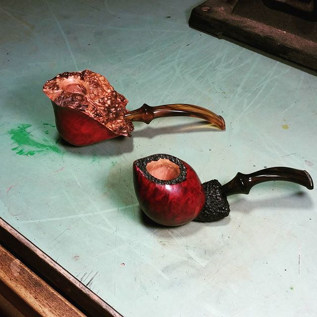 Instagram - #handmade #briar #tobaccopipe #smokingpipe #handcarved #supportsmall